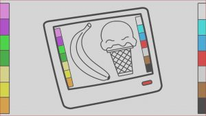 Tablet Coloring New Collection Tablet Pc Coloring Pages & Drawing