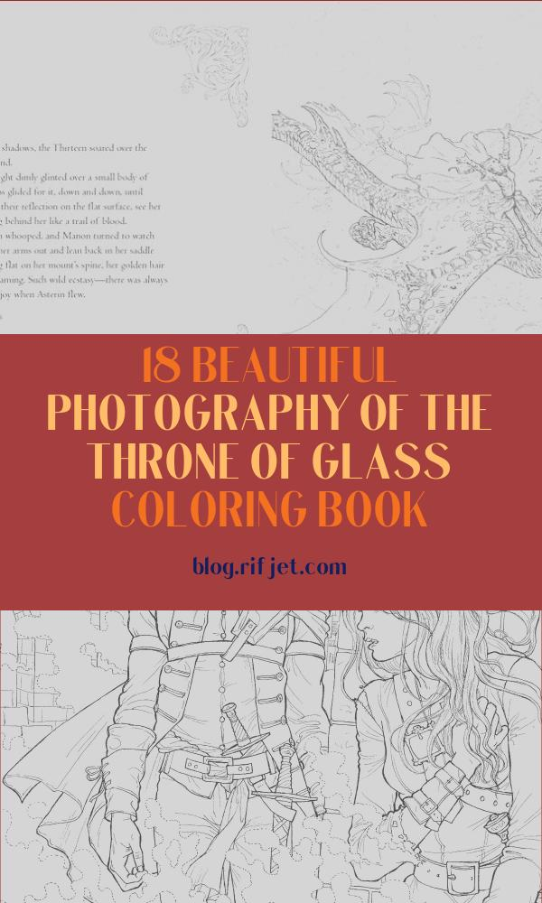 The Throne Of Glass Coloring Book New Collection Image Throne Of Glass Manon Coloring Book