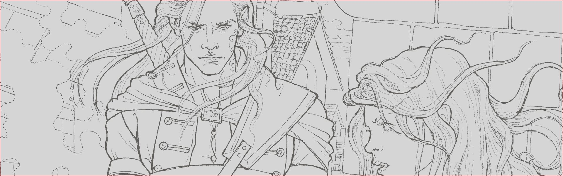 throne glass colouring book free pattern 2