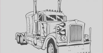 Truck Coloring Pages Awesome Photography Print & Download Inviting Kids to Do the Transformers