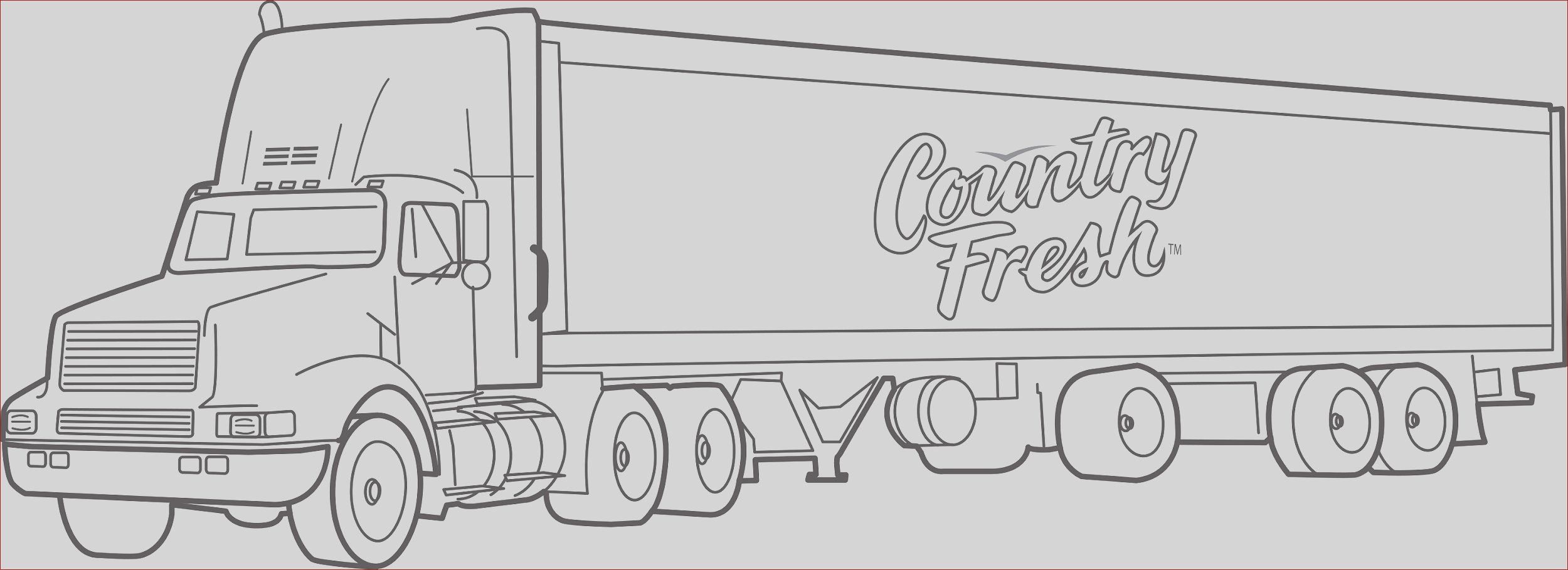 country fresh transport truck coloring pagestruck coloring pages