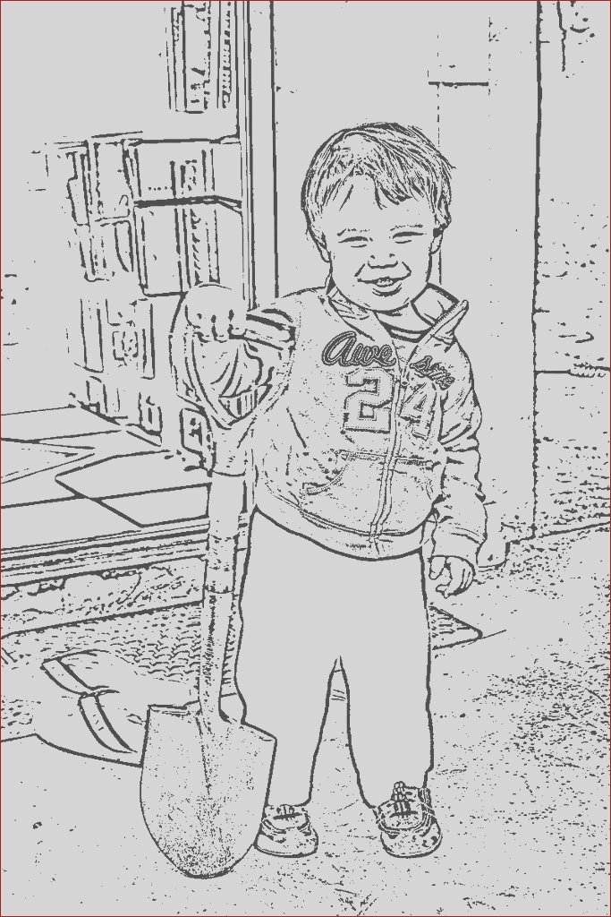 turn photos into coloring pages free online