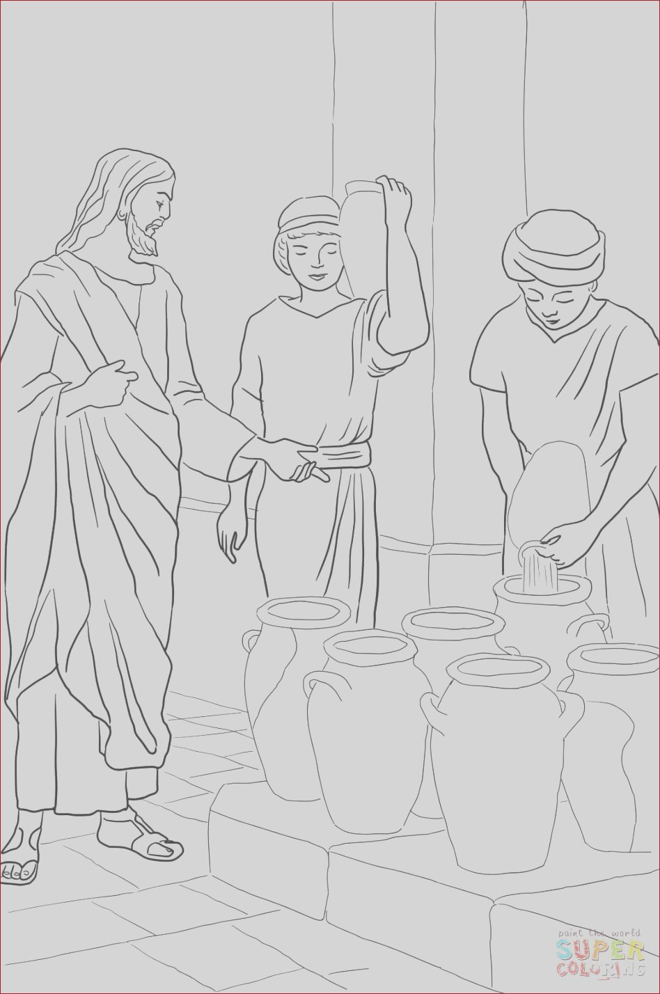 convert photo to coloring page free