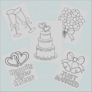Wedding Coloring Pages Free New Photography 5 Printable Wedding Favor Kids Coloring Pages by
