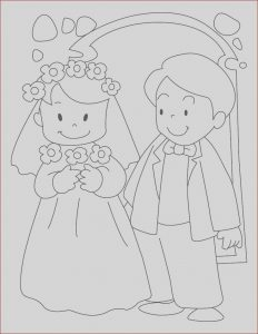 Wedding Coloring Pages Free Unique Image Free Bride and Groom Printable Coloring Page