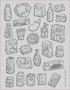 Where to Find Food Coloring In Grocery Store Cool Gallery Ve Ables Colouring Pages Kiddi Kleurprentjes