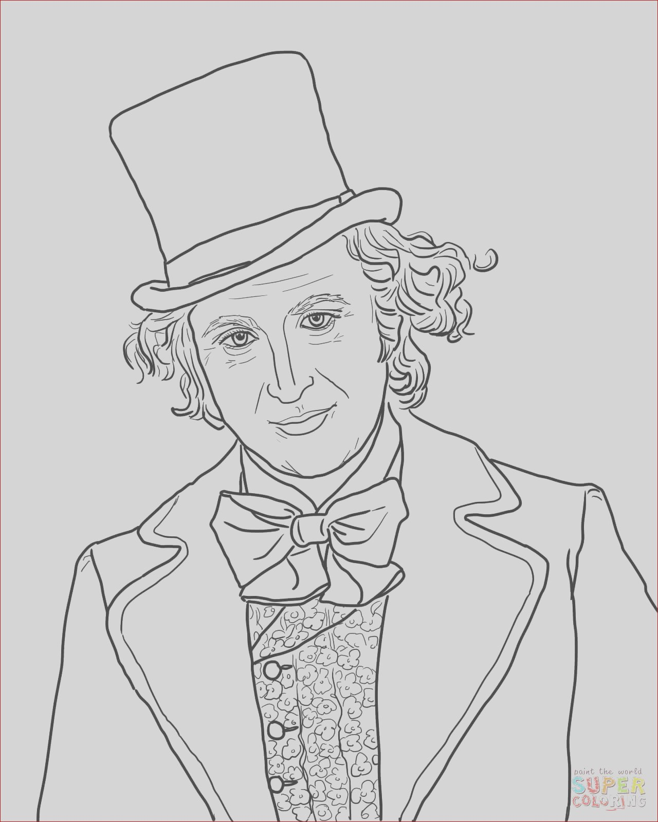 willy wonka chocolate bar coloring page sketch templates