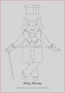 Willy Wonka Coloring New Stock Willy Wonka Colouring Page