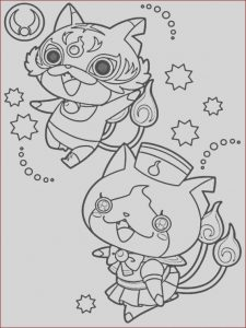 Yo Kai Watch Coloring Pages Awesome Photos 27 Best Yokai Watch Images On Pinterest