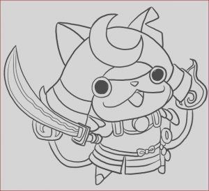 Yo Kai Watch Coloring Pages New Image Watch Line Drawing at Getdrawings