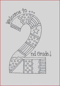 2nd Grade Coloring Pages Awesome Gallery Wel E to 2nd Grade by Bunky Business
