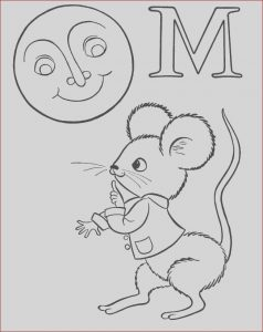 Abc Mouse Coloring Cool Photos M is for Mouse Coloring Pages