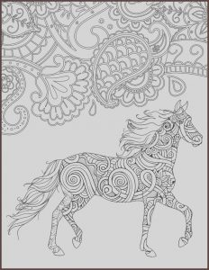 Adult Coloring Pages Horse New Photos Horse Coloring Page for Adults Horse Adult Coloring Page