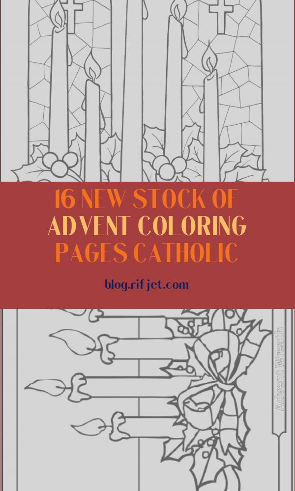Advent Coloring Pages Catholic Inspirational Collection Advent Wreath Christ Candle Coloring Page
