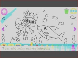 Baby Coloring Game Awesome Photos Baby Shark Pinkfong Drawing Coloring Games Playing