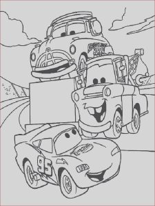 Cars the Movie Coloring Pages Beautiful Collection Cars the Movie Coloring Pages to Print