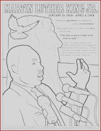 mlk day coloring pages