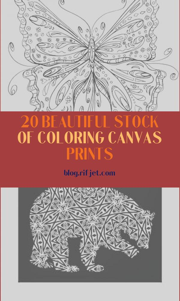 Coloring Canvas Prints Beautiful Image Beautiful butterfly I