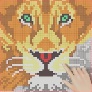 Coloring Games that are Free Cool Image Indraw Color by Number Pixel Art Sandbox Coloring