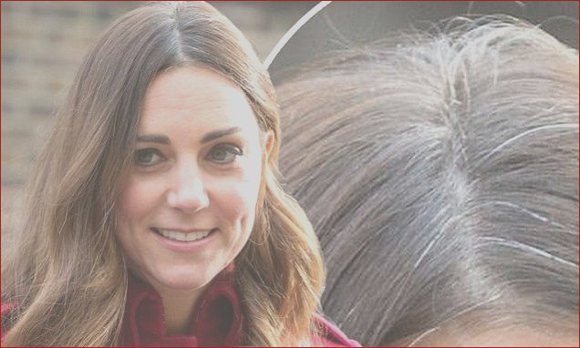 The Duchess Cambridge displays greys Has Kate busy baby George roots done