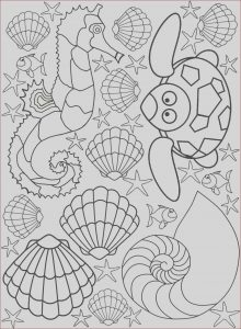 Coloring Images Online Inspirational Photography Seaside Creatures Colouring Page