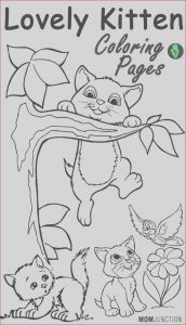 Coloring Images Online Inspirational Photography top 15 Free Printable Kitten Coloring Pages Line