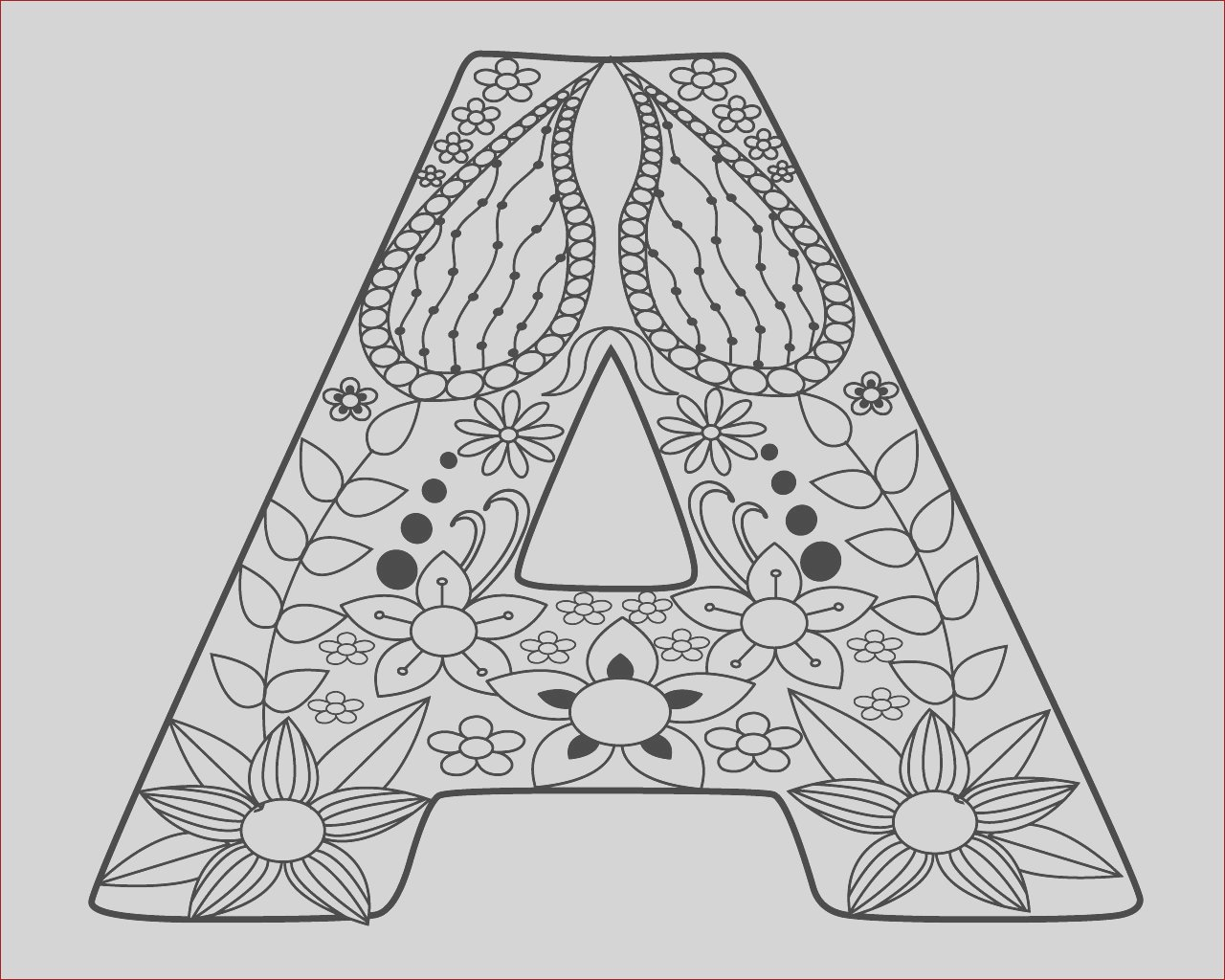 letter a coloring pages for toddlers