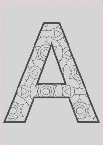 Coloring Letter A New Collection the Full Alphabet Coloring Pages