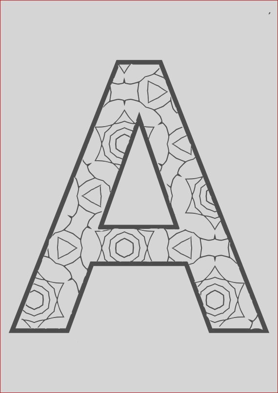 the full alphabet coloring pages