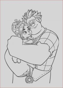 Coloring Pages for Teenagers Printable Free New Stock Ralph and Vanellope Coloring Pages for Kids Printable
