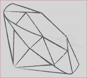 Diamond Coloring Page Beautiful Image Diamond Shape Coloring Page at Getcolorings