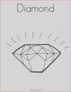 Diamond Coloring Page Best Of Photos Diamond Coloring Page Twisty Noodle