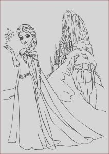 Elsa Coloring Pages Beautiful Image Free Printable Elsa Coloring Pages for Kids Best