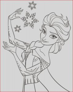 Elsa Coloring Pages Elegant Photos Coloring Pages Elsa From Frozen Free Printable Coloring Pages