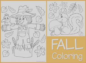 Fall Coloring Pages Free Awesome Images Just Color Free Coloring Printables