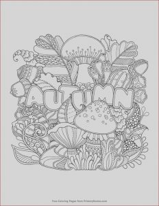 Fall Coloring Pages Free Unique Stock Autumn Coloring Page • Free Printable Ebook
