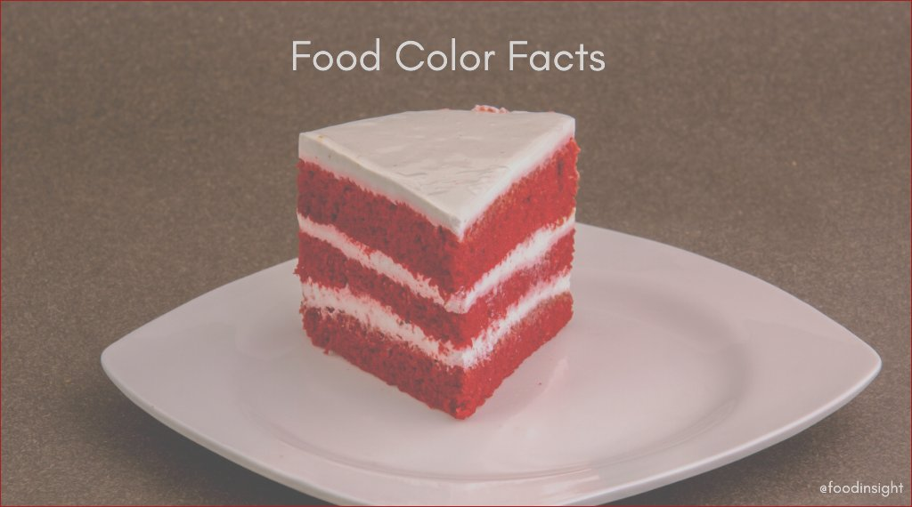 food color facts