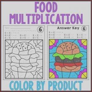 Food Coloring Facts Elegant Gallery Food Color by Number Multiplication Review Facts 6 7 8
