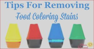 Food Coloring Stain Removal Cool Photos How to Remove A Food Coloring Stain