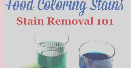Food Coloring Stain Removal Inspirational Photos How to Remove A Food Coloring Stain