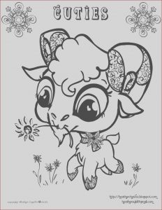 Free Baby Animal Coloring Pages Cool Photos Quirky Artist Loft Cuties Free Animal Coloring Pages