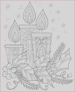 Free Christmas Adult Coloring Pages Luxury Photography Enchanting Candles and Night Sky Christmas Coloring Page