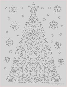 Free Christmas Adult Coloring Pages Luxury Photos Christmas Tree Adult Coloring Page
