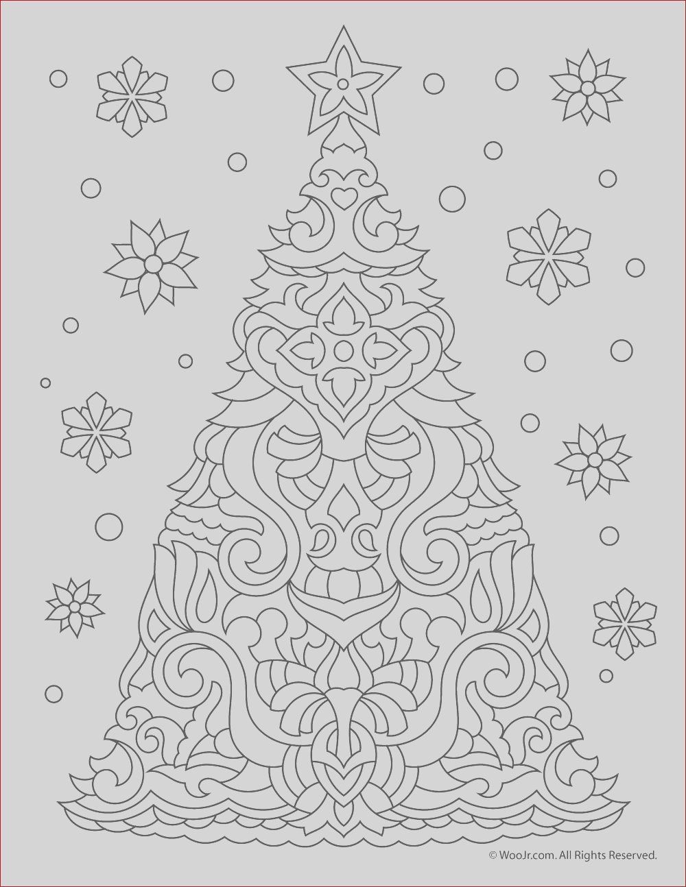 christmas free adult coloring