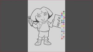 Games Coloring Cool Gallery Little Kids Coloring Games Dora Coloring Games