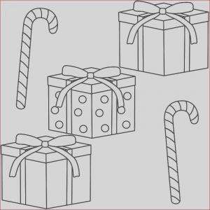 Gifts Coloring Pages Inspirational Collection Christmas Present Drawing at Getdrawings