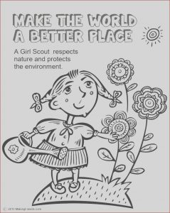 Girl Scout Coloring Beautiful Photos Scout Leader 411 Blog