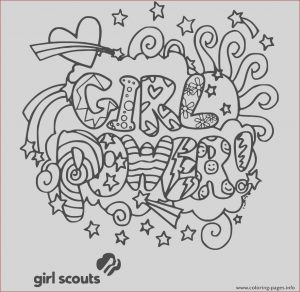 Girl Scout Coloring Best Of Photos Girl Power Girls Scouts Coloring Pages Printable