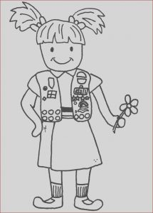 Girl Scout Coloring Luxury Stock 17 Best Images About Girl Scouts On Pinterest