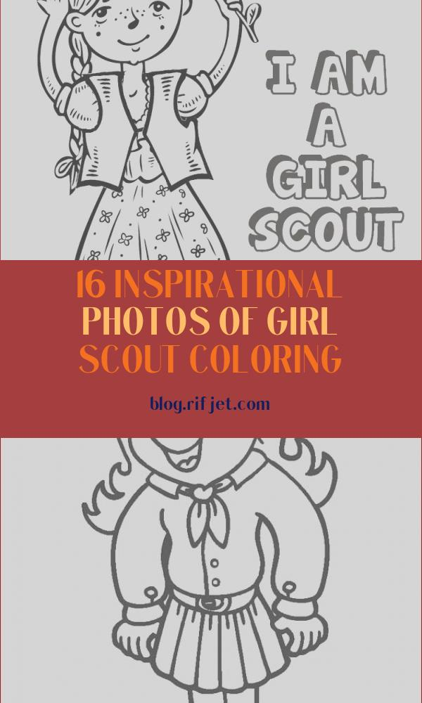 Girl Scout Coloring New Photos Girl Scout Coloring Book